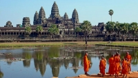 Angkor in the list 20 of the world's most beautiful World Heritage Sites
